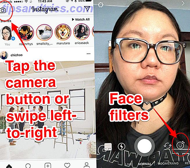 Instagram heeft een nieuwe functie: gezichtsfilters.  We laten u zien hoe u ze kunt gebruiken en leggen uit waar ze nuttig voor zijn.