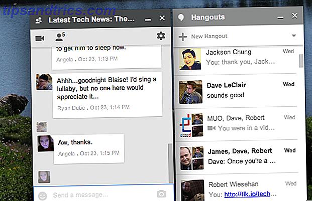 La extensión de Hangouts para Chrome trae conversaciones a tu escritorio
