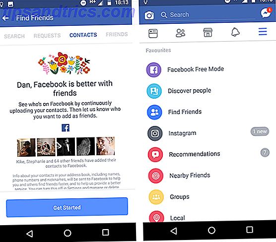 Sådan uploades og slettes telefonkontakter på Facebook