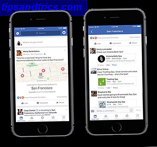 Bij het plaatsen van een Facebook-update is er een relatief verborgen functie waarvan velen niet weten: aanbevelingen van vrienden verzamelen.