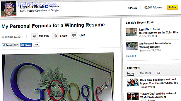 10 meilleurs Influenceurs LinkedIn à suivre pour la recherche d'emploi et les conseils d'entrevue