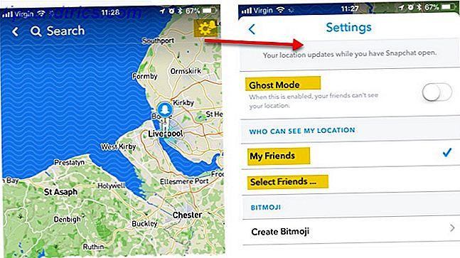 Snap Map te permite ver dónde están tus amigos y muestra a tus amigos dónde estás.  Si suena espeluznante, es porque lo es.