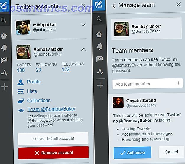Si compartes una cuenta de Twitter con otras personas, tal vez manejando una marca o simplemente manejando una creatividad genial, entonces Tweetdeck acaba de mejorar muchísimo.  Saluda a los nuevos equipos de Tweetdeck.