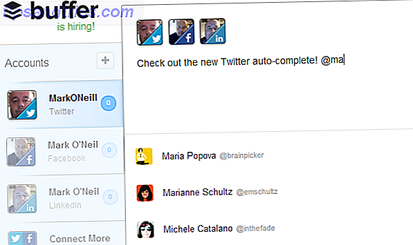 Buffer introduceert Smart Twitter Auto-Complete