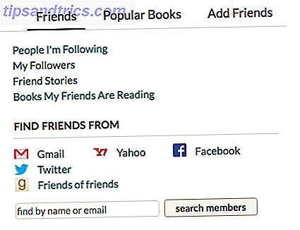 Se você é um leitor ávido e ativo no Twitter, pode combiná-los para obter ótimas novas recomendações para ler seus próximos livros.