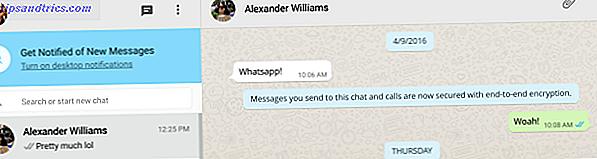 El llamado protocolo de encriptación de extremo a extremo promete que solo usted y la persona con la que se está comunicando pueden leer lo que se envía.  Nadie, ni siquiera WhatsApp, tiene acceso a su contenido.