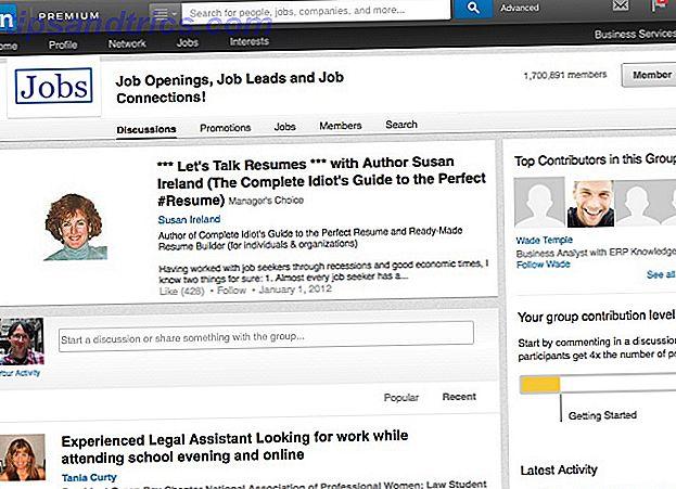 L'un des outils les plus puissants pour trouver un emploi en utilisant LinkedIn est les groupes.  En voici cinq qui augmenteront considérablement votre pouvoir de recherche d'emploi.