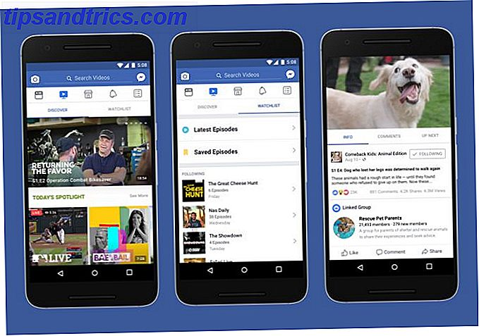 Ny Facebook Watch Tab introducerer original programmering til USA