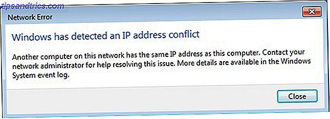 Qu'est-ce qu'un conflit IP et comment le résolvez-vous?