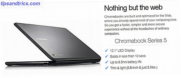 ¿Qué es un Chromebook? [MakeUseOf Explains] chromebooks ad