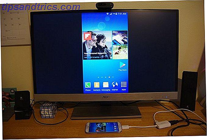 Vous vous demandez comment connecter votre téléphone à un téléviseur en utilisant USB?  Voici vos meilleures options pour connecter votre téléphone Android, iPhone ou n'importe quelle tablette.