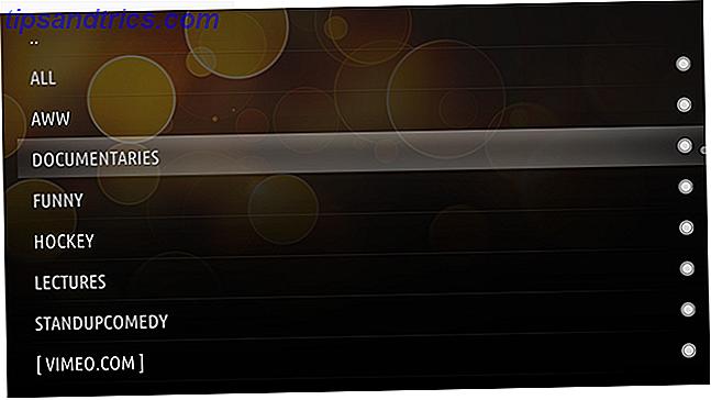 Reddit vindt altijd de beste video's;  XBMC is het beste mediacentrum.  Combineer deze twee dingen om nu meteen vanuit je luie stoel door de beste video's op internet te bladeren.