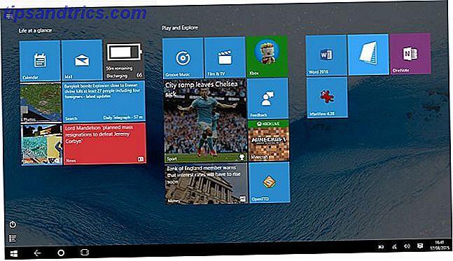 Continuum basculer entre Windows 10 Desktop et Tablet Mode