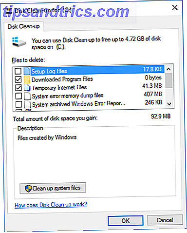 Comment libérer de l'espace de stockage pour exécuter Windows 10