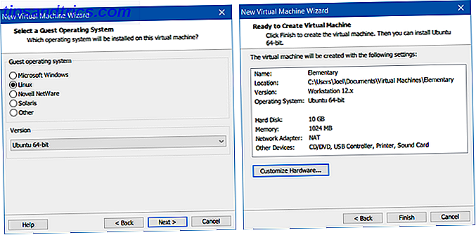 VirtualBox versus VMware Player: de beste virtuele machine voor Windows VMware maken virtuele machine wizard