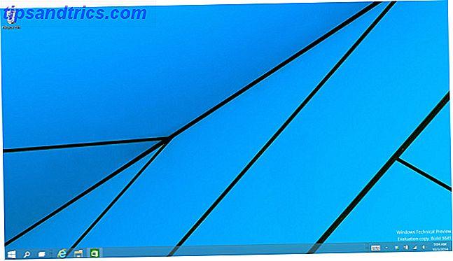 La Vista previa técnica de Windows 10 ya está disponible para todos.  Algunos errores aparte, se ve prometedor.  Le guiaremos a través de la nueva captura de pantalla de Windows uno a la vez.