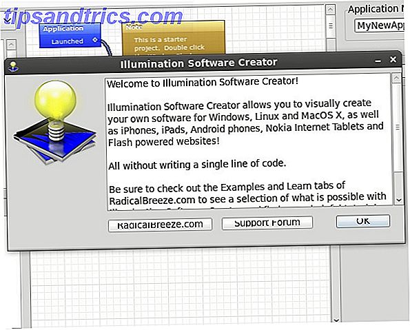 Haga sus propios programas con Illumination Software Creator [Giveaway] welcome