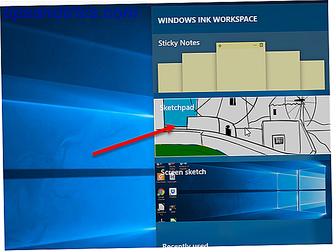 Windows bläck skisspad
