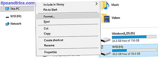 Cómo formatear una unidad USB y por qué necesitaría