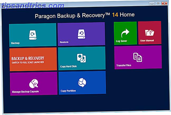 Ne perdez plus jamais un fichier avec Paragon Backup and Recovery Home 14