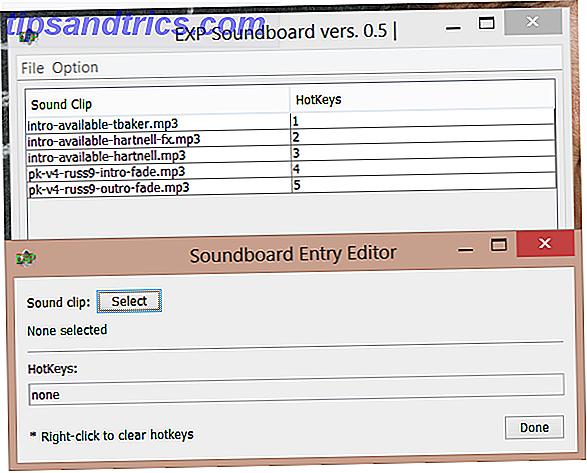 Crea un rumore con Soundboard App per Windows 8