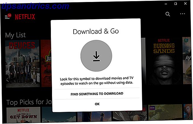 Vous pouvez télécharger des films et des émissions de télévision à partir de Netflix en utilisant l'application Windows 10.  Mais vous pouvez faire tellement plus avec Netflix sous Windows, comme ajouter des sous-titres, utiliser des commandes vocales, et plus encore.