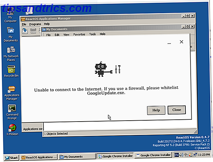 reactos review Chrome installieren