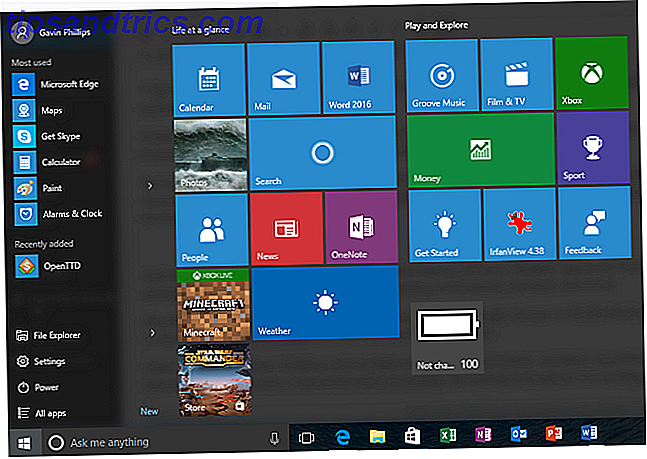 Windows 10 Start-menu