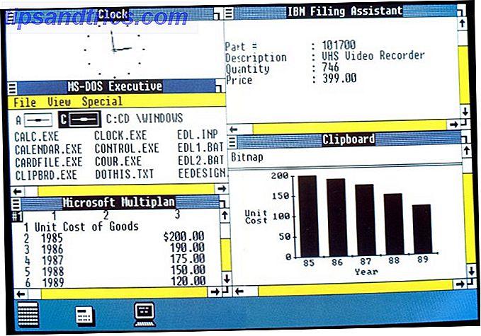 Regardons le passé et voyons les fonctionnalités de productivité les plus importantes de Windows et les versions dont elles proviennent.