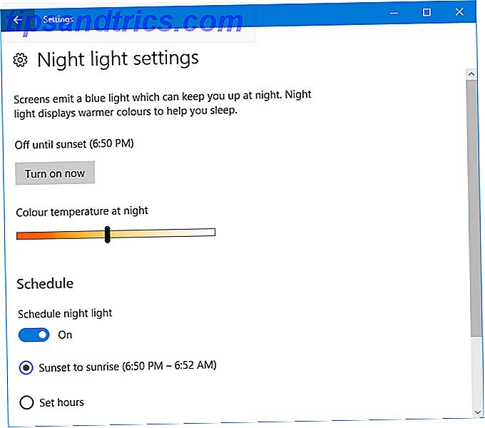 f.lux vs Windows 10 Night Light: Lequel devriez-vous utiliser?