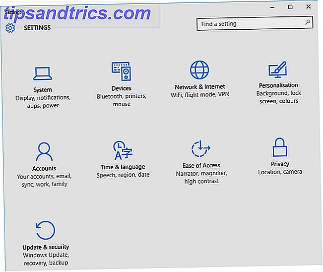 Le panneau de configuration est en cours de désarmement.  Dans Windows 10, l'application Paramètres a adopté la plupart de ses fonctionnalités dans une interface plus élégante et adaptée aux mobiles.  Est-ce vraiment nécessaire?