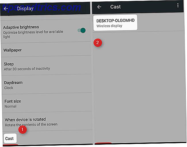 Hoe je Android-scherm casten naar Windows 10 met Miracast