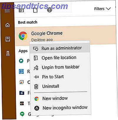 Besoin d'exécuter un programme en tant qu'administrateur dans Windows?  Voici quelques façons de le faire.