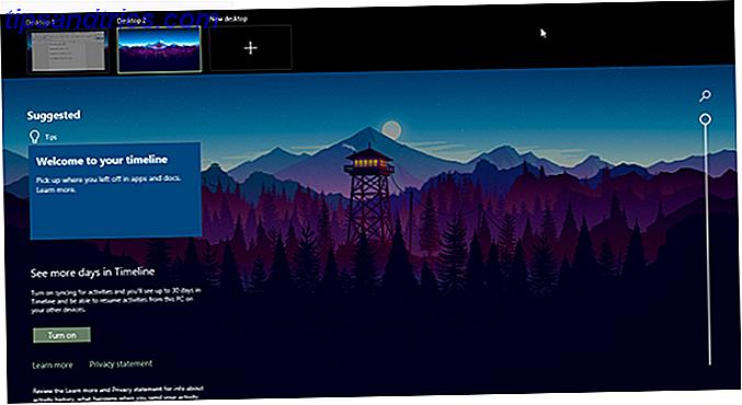 ¿Qué es Windows 10 Timeline?  Por qué es genial y cómo usarlo
