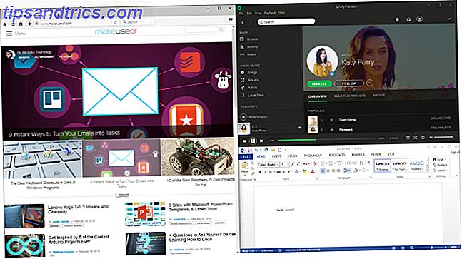 Ihr Windows-Desktop ist vielseitiger als Sie denken.  Sie können eine Reihe von Tricks und Tools verwenden, um Ordnung zu halten und Dinge schneller erledigen zu können.