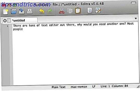 Editra: En kraftig og utvidbar krypplattforms tekst- og kodeditor
