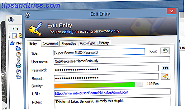 KeePass-entry