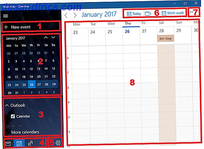 L'application Calendrier Windows 10 par défaut vaut votre temps.  Il peut se synchroniser avec Google Agenda et Outlook.  Ici, nous vous montrons comment en tirer le meilleur parti.