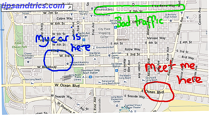 Windows Maps vs. Google Maps: 7 características Windows hace mejor MicrosoftSoft maps ink notes 670x361