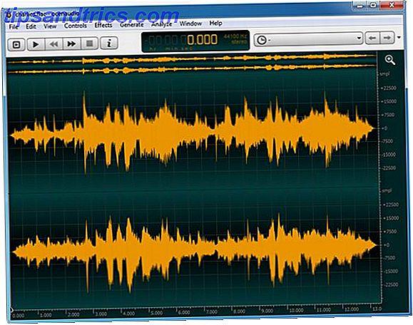 Ocenaudio: éditeur audio multi-plateforme, rapide et fonctionnel