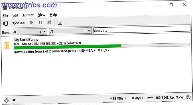 i migliori client torrent - Transmission