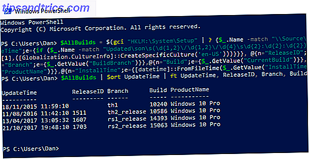 Come visualizzare l'intera cronologia di aggiornamento di Windows come aggiornamento di Windows PowerShell