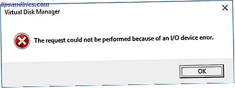 Cómo reparar un error de E / S de disco en Windows