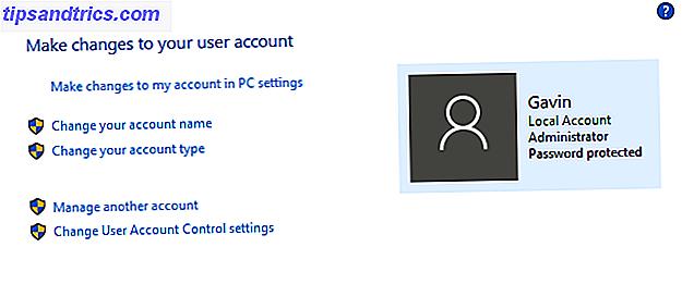 Uanset om du bruger en administrator eller en standard Windows-konto, er det vigtigt, at dit sikkerhedsniveau for brugerkonto kontrol er.  Her er hvad du behøver at vide.