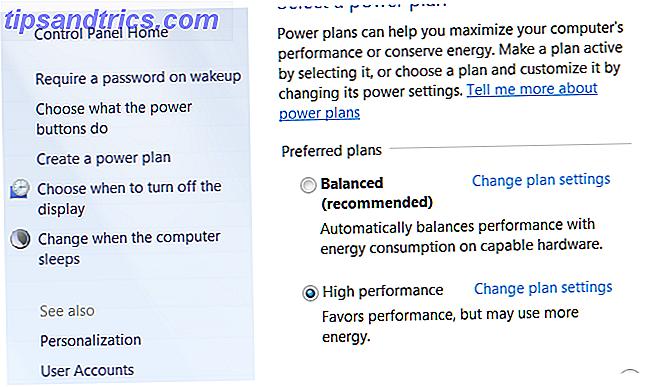 Spara energi och förläng batteritiden med anpassade Windows Power Plans