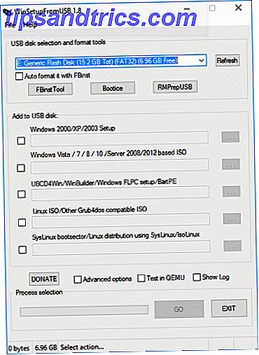 Möchten Sie mehrere Betriebssysteme von einem einzigen bootfähigen USB-Stick ausführen?  Vielleicht booten oder installieren Sie das Betriebssystem?  Sie können mit diesen Werkzeugen.