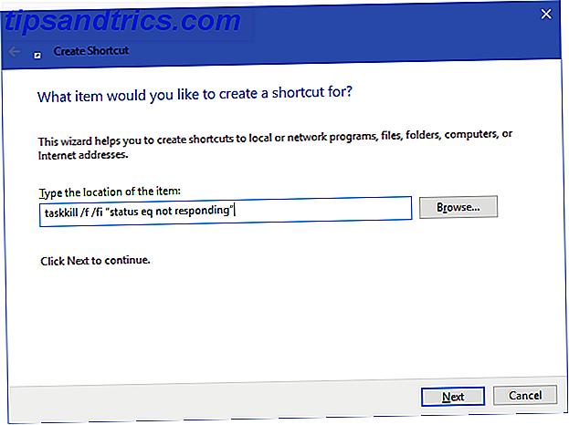 Cuando un programa de Windows deja de funcionar, su primer instinto es, probablemente, visitar el Administrador de tareas.  Aquí hay un atajo súper rápido que puede usar para matar tareas inactivas.