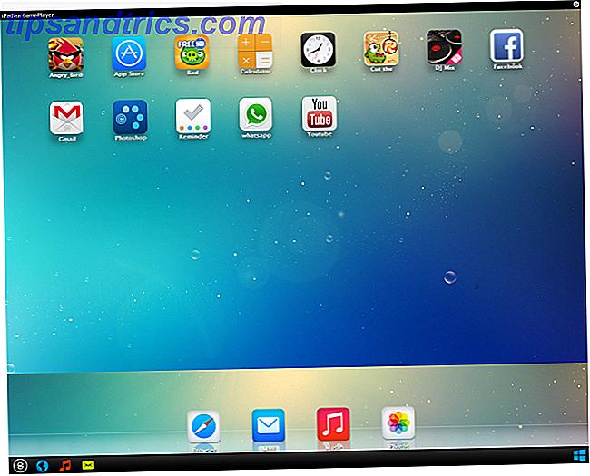 iPadian: el simulador de iOS para Windows