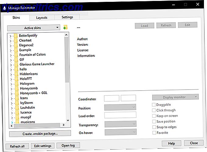 Come creare un tema personalizzato Rainmeter per il tuo desktop di