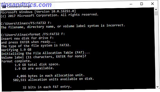 FAT et FAT32 prennent en charge jusqu'à 16 To.  Pourtant, Windows fixe une limite de 32 Go pour le formatage avec FAT ou FAT32.  Nous allons vous montrer comment formater des disques plus grands.